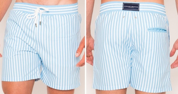Baby Blue Stripe, £89, collierbristown