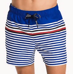 Tommy Hilfiger Stripe Swim Shorts, £52, uk.tommy.com