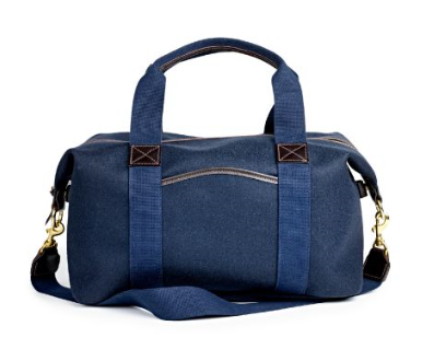 Fox Brothers Brady Navy Weekend Holdall. £600. themerchantfox.co.uk