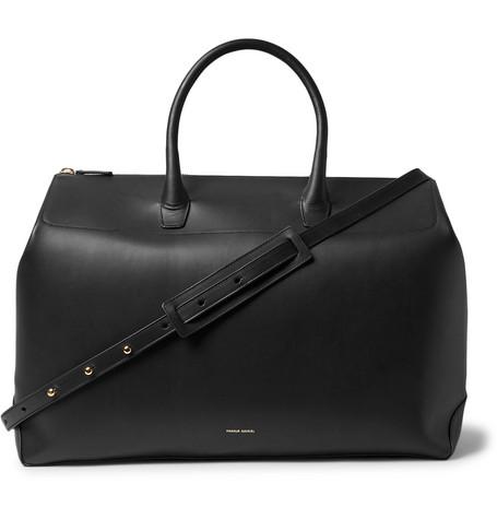 mansur gavriel leather holdall. £695. mrporter.com