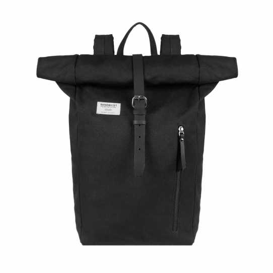 Sandqvist Black Dante Backpack. £105. sandqvist.com