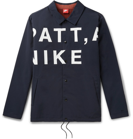 Patta Printed Shell Coach Jacket Nike