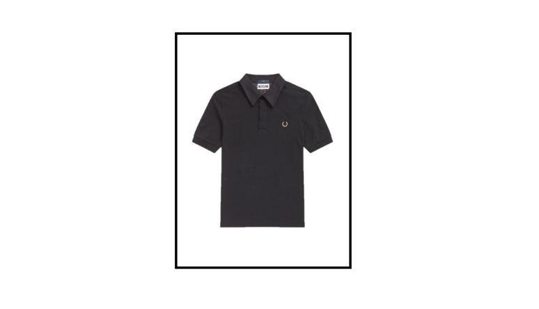 liberty print trim polo