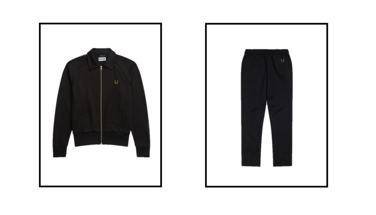 tricot track jacket and pants