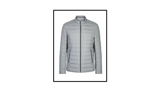 slim fit lightweight quilted jacket remus uomo