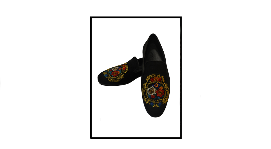 botanic coal slippers by shutiq