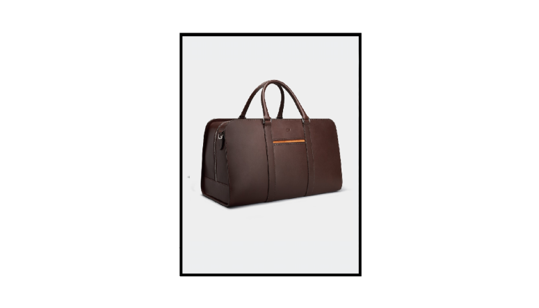 leather weekend bag by carl friedrik